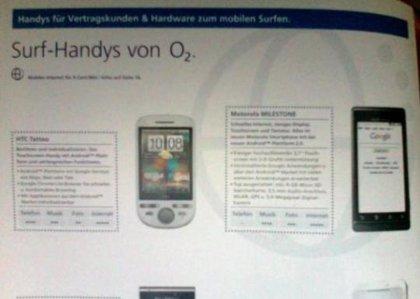 Motorola Droid, ¿a punto de llegar a Europa con el nombre de Milestone?