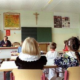 Crucifijo en las aulas