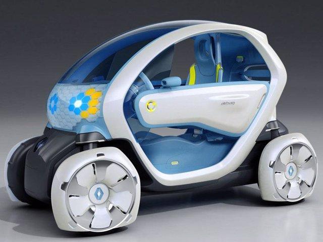 Renault eléctrico derivado del Twizy Z.E. Concept