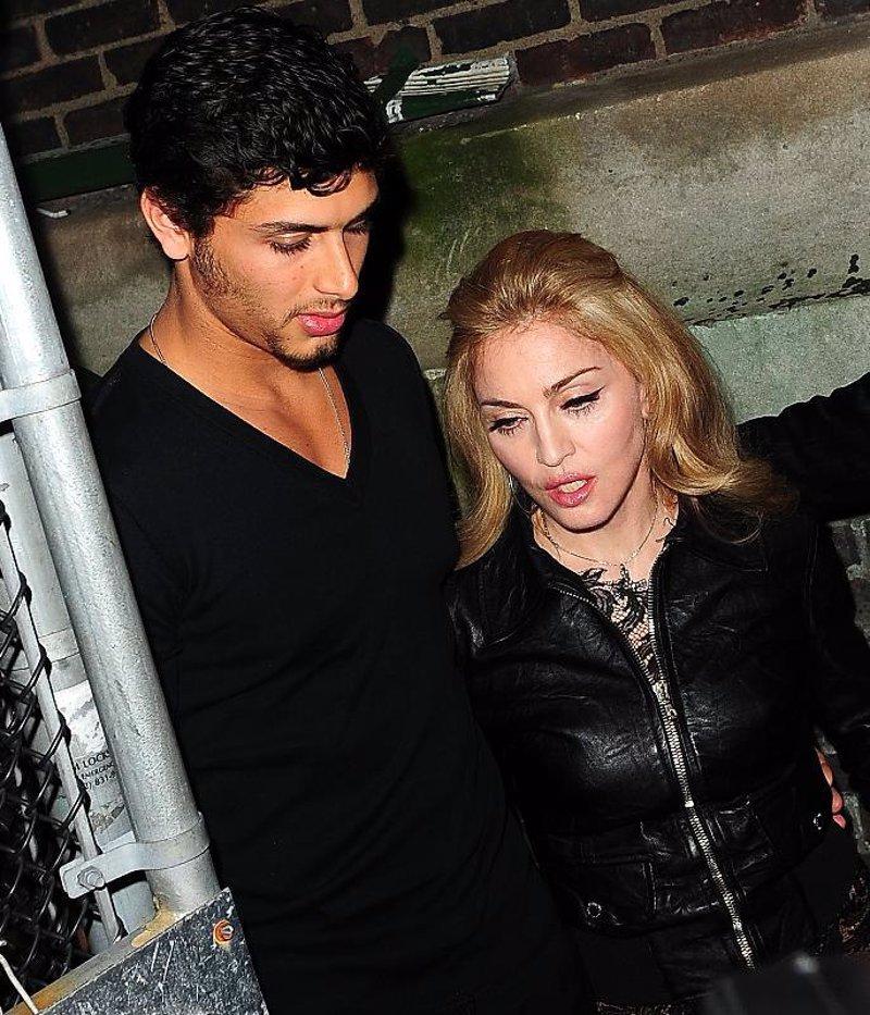 Madonna,encantada de ser, una Cougar