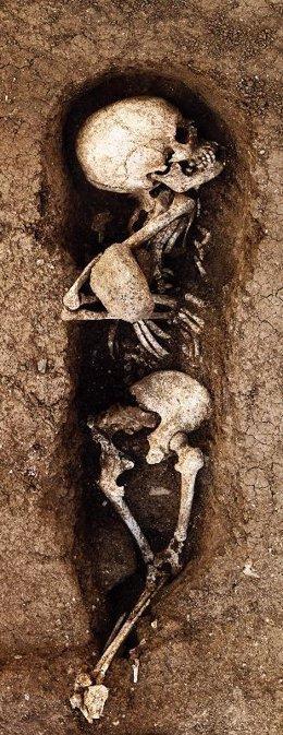 Hallan en Santa María de Guía una necrópolis utilizada en los primeros años de l