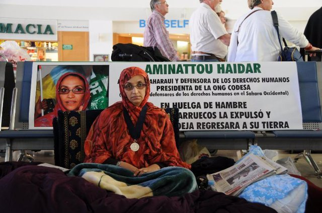 """La salud de Haidar sigue debilitándose pero """"su fortaleza mental se ver reforzad"""