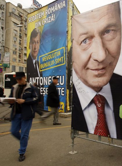 Rumanía celebra el domingo la primera vuelta de las presidenciales