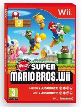 Portada de New Super Mario Bros. Wii