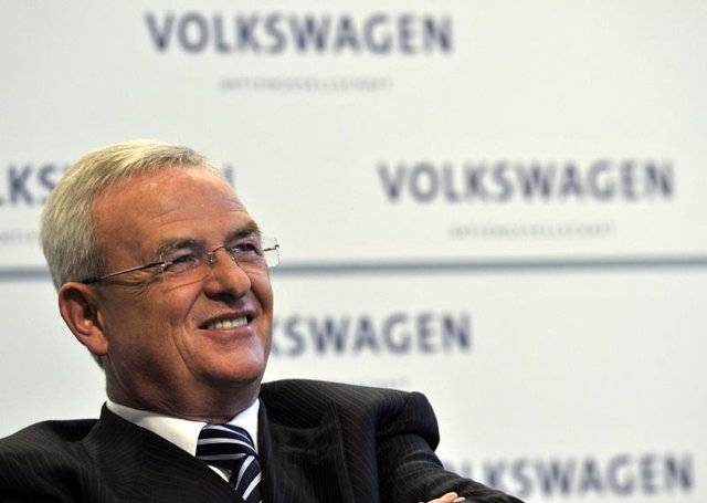 Presidente de Volkswagen, Martin Winterkorn