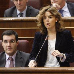Portavoz del PP en el Congreso, Soraya Saénz de Santamaría