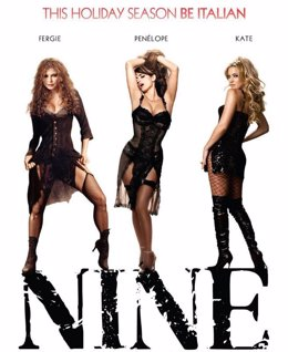 Cartel de Nine con Penélope Cruz
