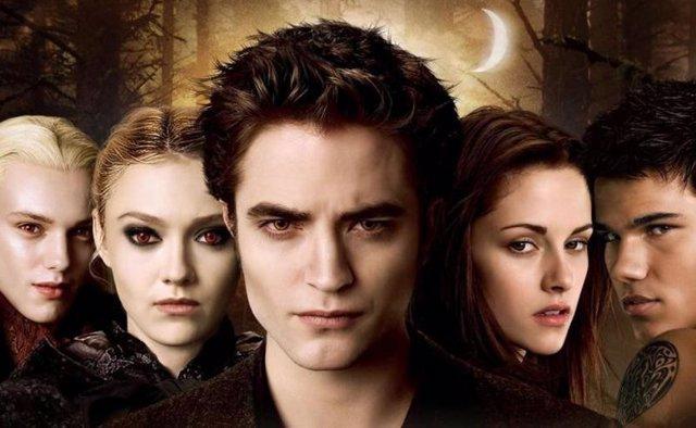 Luna Nueva Crepúsculo Robert Pattinson Kristen Stewart Taylor Launter