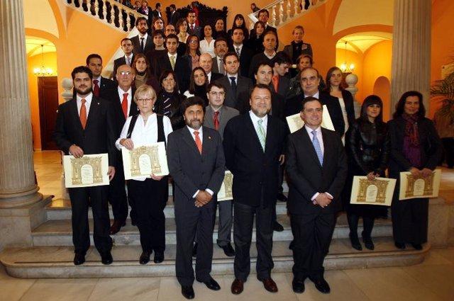 Entrega de premios a los mejores expedientes de la UPO