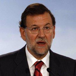 Primerísimo plano de Mariano Rajoy