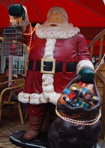 La imagen actual de Papá Noel promueve un estilo de vida poco saludable