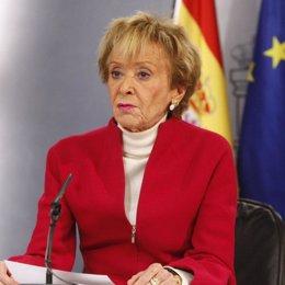 De la Vega en el Consejo de Ministros