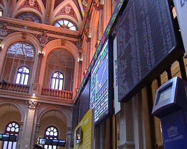 Plano general de la Bolsa de Madrid, Ibex 35