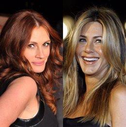 Juia Roberts y Jennifer Aniston