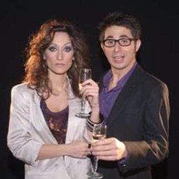 Berto Romero y Ana Morgade