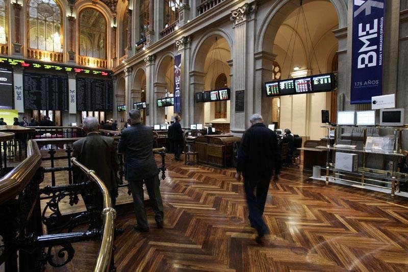 El Ibex terminó el año liderando las subidas de las principales Bolsas europeas