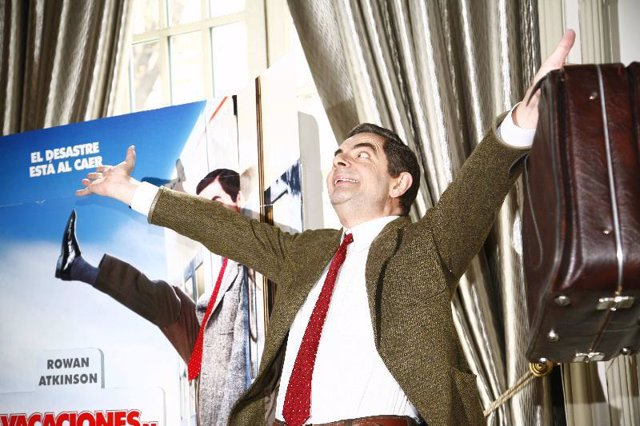 Rowan Atkinson, Mr. Bean, vuelve a la gran pantalla.