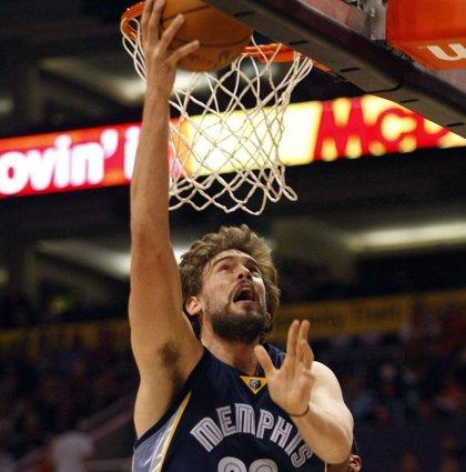 Marc Gasol brilla en el triunfo de los Grizzlies sobre los Blazers