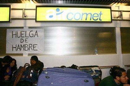 """Trabajadores de Air Comet echan en cara a Fomento que """"no tomara cartas en el asunto"""""""