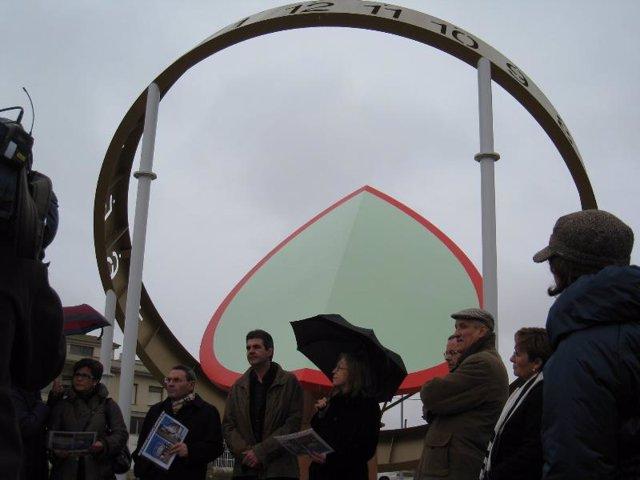 Reloj solar más grande de Europa, Grañén