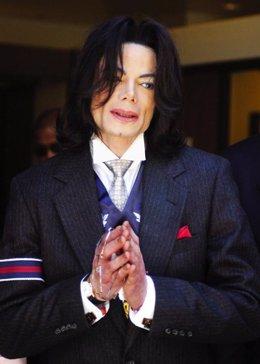 El cantante Michael Jackson