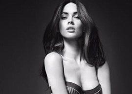 Megan Fox, en lencería para Armani