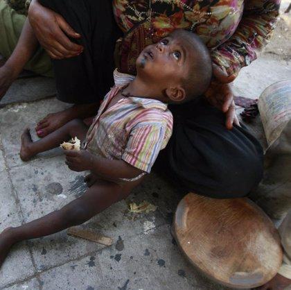 Unos 25.000 niños mueren de hambre al día