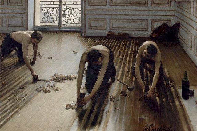 La Rue Montorgueil de París, Claude Monet