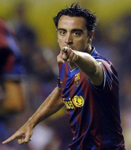 Xavi repite como 'mejor creador' superando a Messi y Kaká