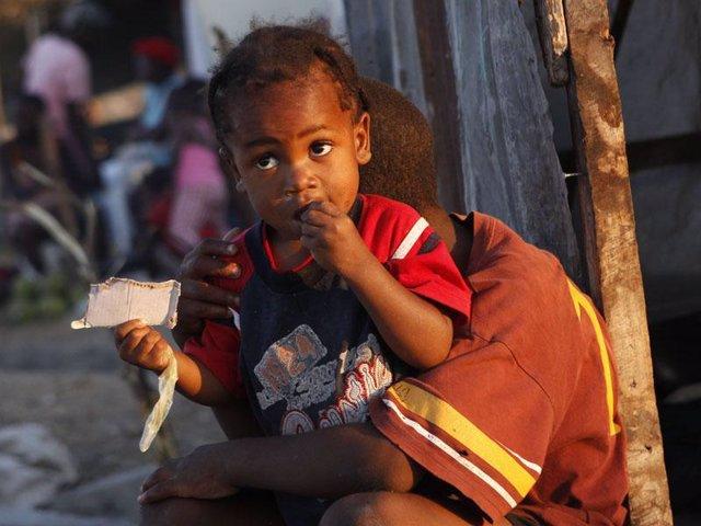 Niño de Haití