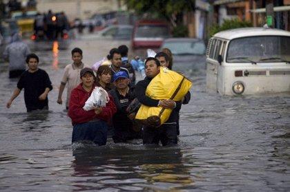 Declaran la emergencia en 12 municipios de México por las intensas lluvias