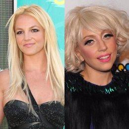Britney Spears y Lady Gaga
