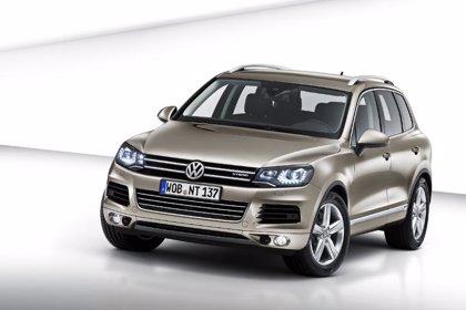 Economía/Motor.- Volkswagen iniciará en abril la venta del nuevo Touareg, que contará con una versión híbrida