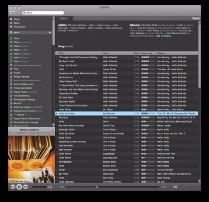 Warner retira la licencia de canciones a Spotify y Last.FM