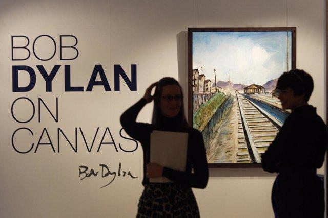 Exposción Pinturas De Bob Dylan En Londres