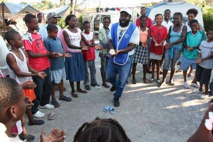"""Haití.- Ayudar a los niños a superar el trauma, """"clave"""" para conseguir el desarrollo, según PLAN"""
