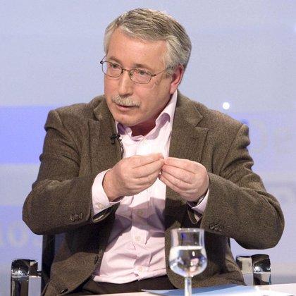 Toxo dice que España no necesita jubilarse a los 67, sino empleo para los parados