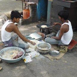 pobreza extrema India pobres comida Objetivo Milenio