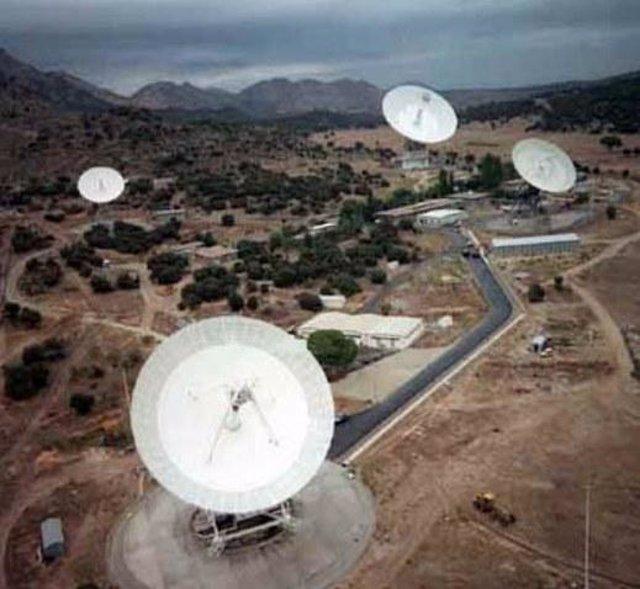 Estación De Seguimiento De Robledo, Antena Espacial