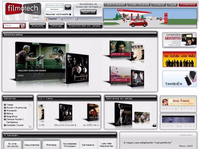 Felimotech, portal de Internet de alquiler de películas vía streaming