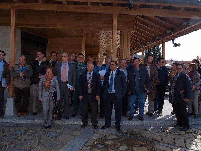 Miembros De La Junta Rectora Del Parque Natural Fuentes Carrionas