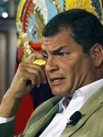 """Correa afirma que las relaciones con Colombia """"van por buen camino"""""""