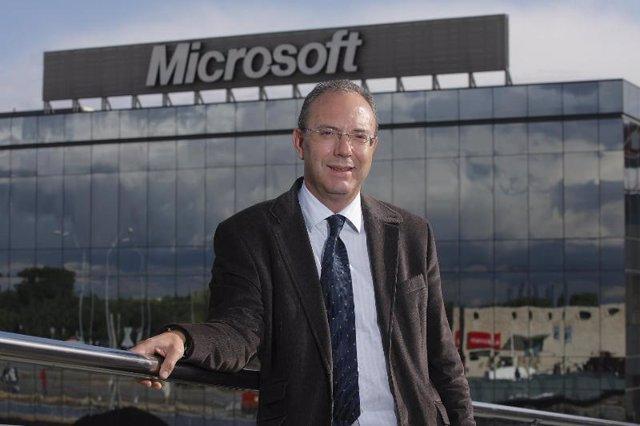 Txema Arnedo, Microsoft Ibérica