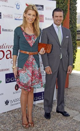 Patricia Rato y el torero 'Espartaco'