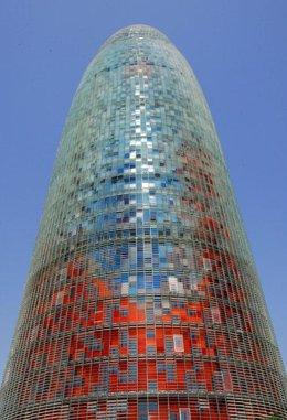 Recurso de la torre de la compañía Agbar en Barcelona