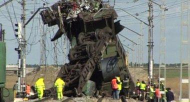 Choque Trenes en Castilla y Leon