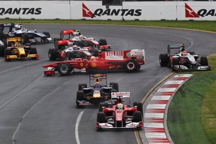 Alonso logra una meritoria cuarta plaza en Australia