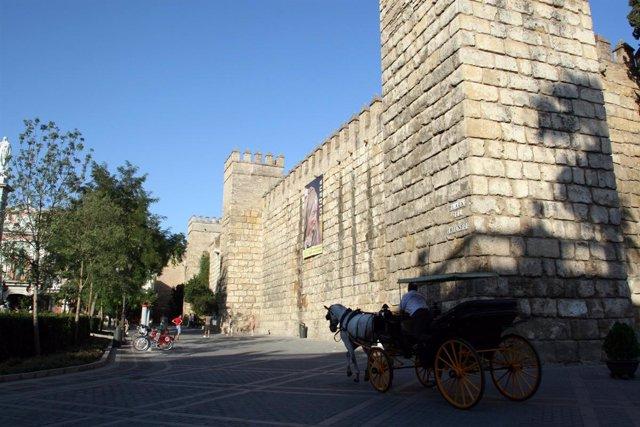El Real Alcázar, Uno De Los Monumentos Más Visitados.