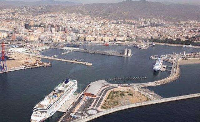 Imagen Del Puerto De Málaga