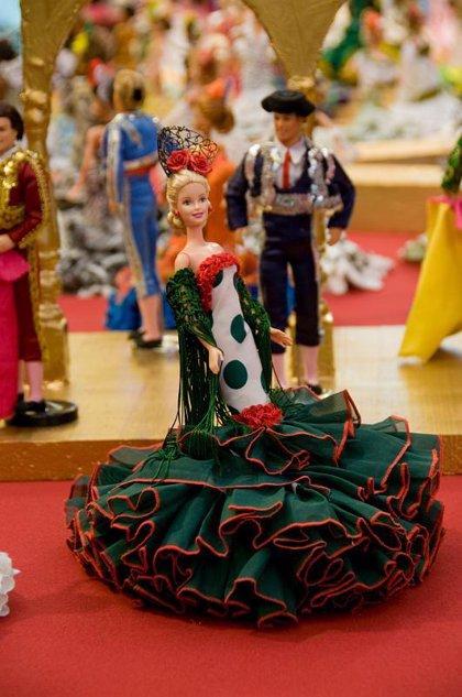 Más de 400 Barbies, Kens y Action Men recrearán en una exposición en Madrid la Feria de Abril de Sevilla